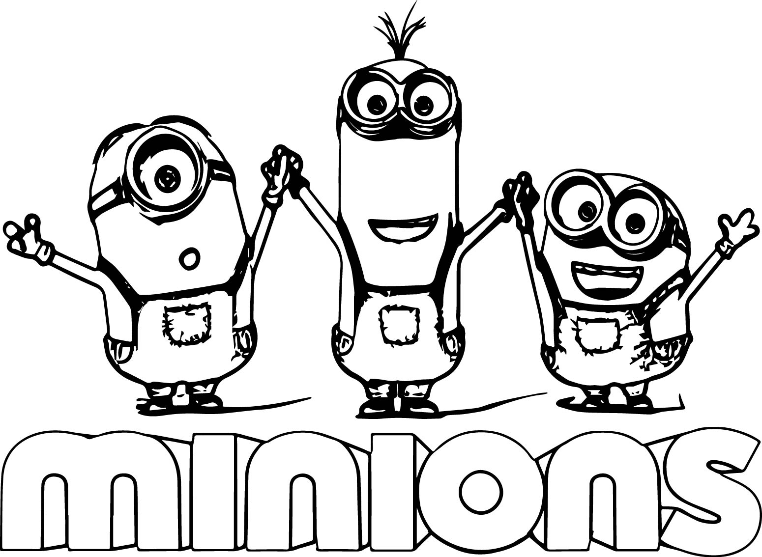 coloring print pages minions - photo#22