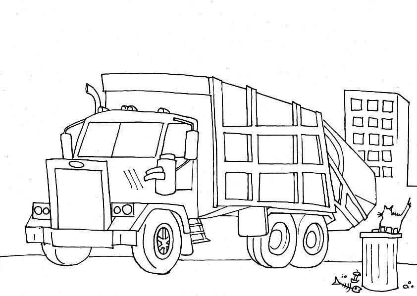 cattle truck coloring pages - photo#11